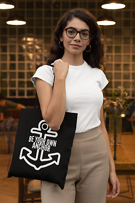 £6.99 • Buy Be Your Own Anchor Lightweight Cotton Tote Bag