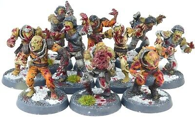 £24.99 • Buy (10 Figures) 40K Nurgle Death Guard Chaos Plague Zombies (Made By Manticgames)