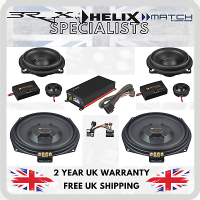 Match & Vibe Speaker With Micro Amp Upgrade Package For BMW 5 Series E60 • 500£