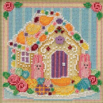 $12.99 • Buy Mill Hill Buttons & Beads  Beaded Cross Stitch Kit Sugar Cookie House