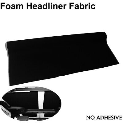 $53.57 • Buy Foam Backed Micro Headliner Material Resurrect Your Damaged/Aged 108  X 60