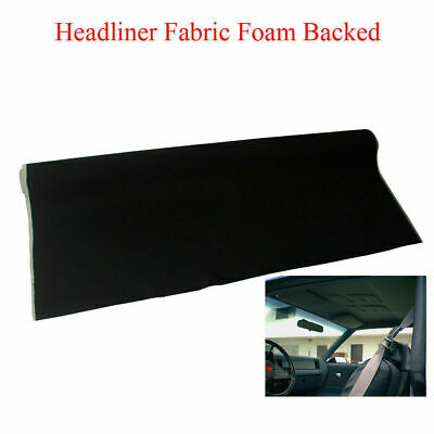 $52.63 • Buy Cars Blackout Headliner Fabric Upholstery Replacement Foam Backing No Adhesive