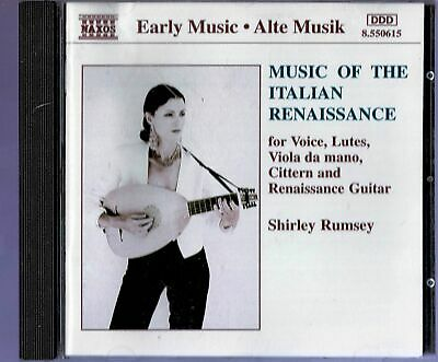 £3.99 • Buy Naxos Shirley Ramsey - Music Of The Italian Renaissance Voices, Lutes, Etc