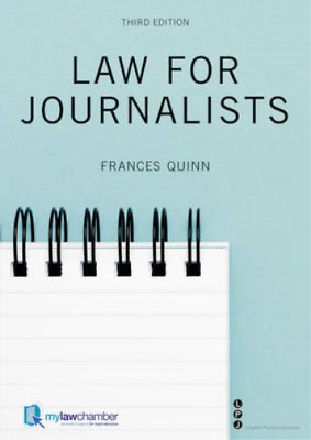 £4.69 • Buy Law For Journalists, Quinn, Frances, Used; Good Book