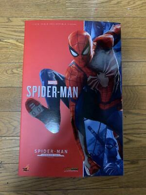 $ CDN814.91 • Buy Hot Toys Video Game Masterpiece Spider-Man Advanced Suit Ver. 1/6 Figure