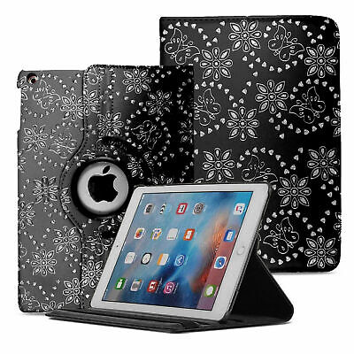 £5.99 • Buy  New Leather Bling 360 Rotating Case Apple IPad Pro 9.7 17/18 & Air 5/6 Cover