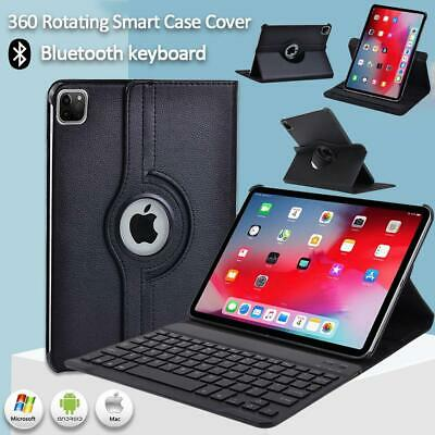 £12.99 • Buy Leather Stand Case Cover+Bluetooth Keyboard For Apple IPad Air 1234/Pro 9.7 11''