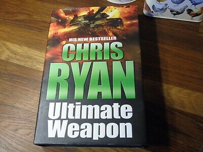 £4 • Buy Ultimate Weapon By Chris Ryan Signed Copy