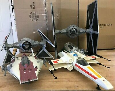 $ CDN150 • Buy Star Wars Hasbro Various Starfighters & Vehicles TIE Fighter, X-Wing, A-Wing