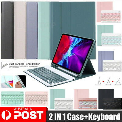 AU42.95 • Buy Smart Case With Bluetooth Keyboard Cover For IPad 7/8th 6th&5th Gen Mini Air 4th