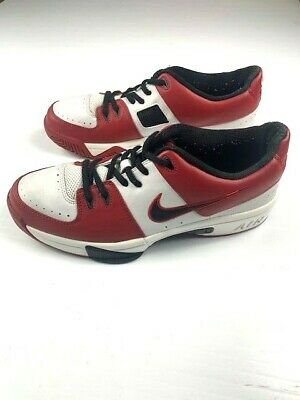 $ CDN29.98 • Buy NIKE AIR BATTLEGROUNDS Mens Rare Leather Shoes Sample XC Size 9 White/Red?Black