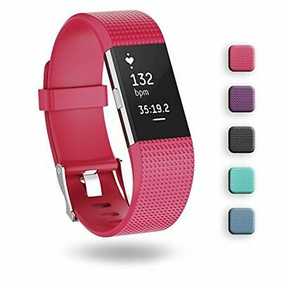 AU19.98 • Buy Fitbit Charge 2 Band,ZriEy TPU Wristband Adjustable Band Strap For Fitbit Charge