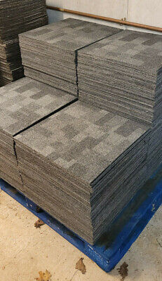 £30 • Buy 20x DESSO Grey CARPET TILEs Great Condition Quantity Available
