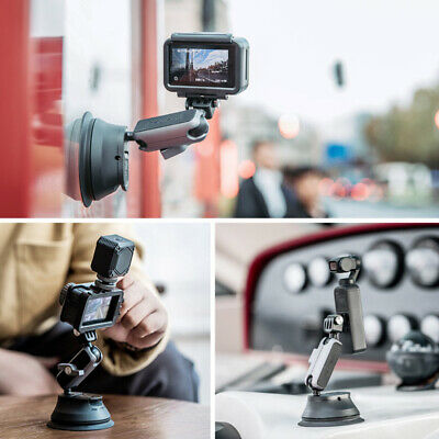 £29.73 • Buy Car Suction Cup Mount Bracket For DJI OSMO Action / Gopro Hero 8 Sports Camera