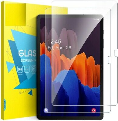£4.99 • Buy Samsung Galaxy Tab S7 Plus 12.4  2020 T970/T975 Screen Protector Tempered Glass