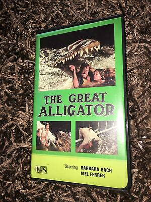 £9.99 • Buy The Great Alligator VHS Video (NTSC)