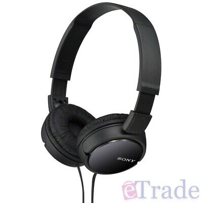 AU29.90 • Buy BRAND NEW Sony MDR-ZX110B On Ear Foldable Headphones Comfort Lightweight Design