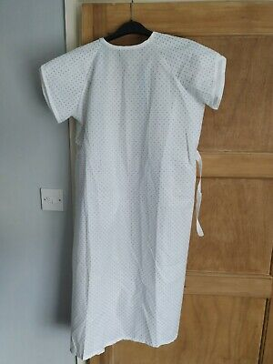 £6.99 • Buy Cromptons Healthcare MIP Hospital Patient Gown Medical White Young Small Adult