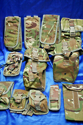 £8.95 • Buy Genuine British Army Osprey Mtp Pouchs Grade 1 - 12 Types To Choose From