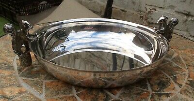 £18.99 • Buy Vintage Silver Plated Dish With Two Squirrel Handles - Unusual