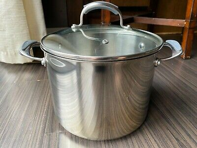 $ CDN62.48 • Buy Dansk Master Series 18/10 Stainless Steel 8 Qt Stock Pot With Lid