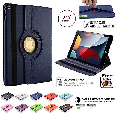 £2.95 • Buy PU Leather 360° Rotate Slim Case Cover For Apple IPad 10.2  8th Generation