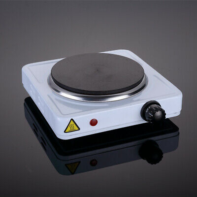 £13.99 • Buy Single Hot Plate Portable Table Top 1000W Electric Cooker Stove Kitchen Utensils