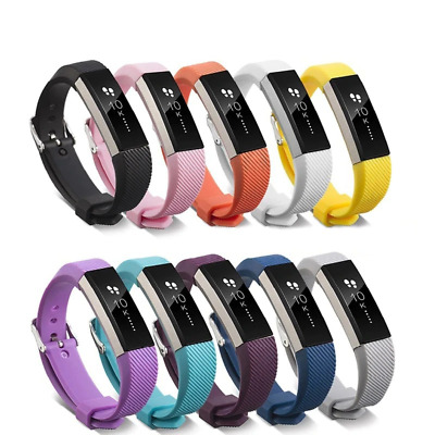 $ CDN6.70 • Buy For Fitbit Alta, HR, ACE Strap Replacement Silicone Buckle Sport Watch Band