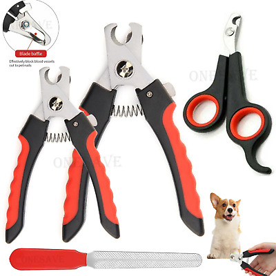 £2.50 • Buy Dog Nail Clippers Pet Cat  Rabbit Sheep Animal Claw Trimmer Grooming Large Small