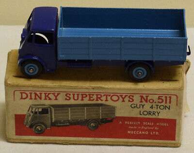 £311.52 • Buy Dinky 511 Guy 4-ton Lorry Excellent Model W/ Vg Box!
