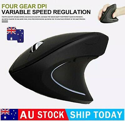 AU21.21 • Buy Anker Ergonomic Optical USB Wired Vertical Mouse 1000/1600 DPI 5 Buttons CE100✈