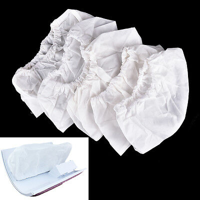 £5.98 • Buy 5Pcs White Non-woven Replacement Bags For Nail Art Dust Suction Collector  LlPTU