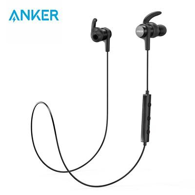 AU77.95 • Buy Anker SoundBuds Flow Lightweight Wireless Earphones With Bluetooth 4.1 Sports