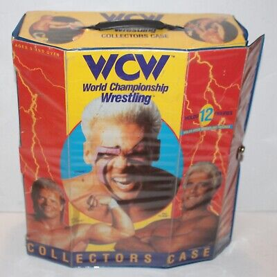 $ CDN37.48 • Buy WCW Galoob Action Figure Collector's Case Vintage Wrestling WWE WWF Carrying 12