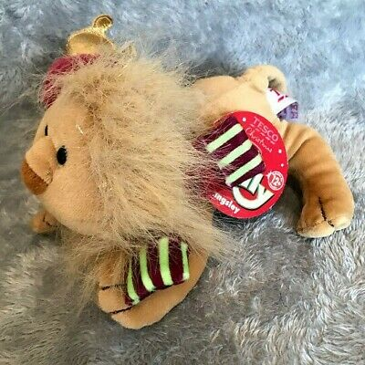 £14.99 • Buy Tesco Chilly And Friends Christmas Kingsley Lion Tag 7  Soft Toy