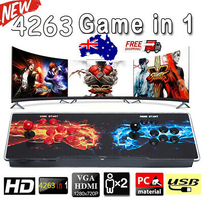 AU198.99 • Buy 2021 New 4263in1 Games Pandora's Box 20S Retro Video Double Stick Arcade Console
