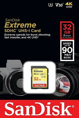 £11.99 • Buy 32GB SD SanDisk Memory Card For Canon Powershot A810 Digital Camera
