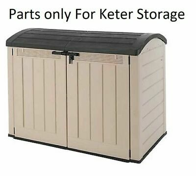 £59.99 • Buy Parts For Keter Store It Out Ultra Wood Effect Plastic Garden Shed  - Parts Only