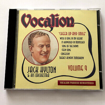 £12.74 • Buy Jack Hylton And His Orchestra – Volume 9 : Cheer Up And Smile (Vocalion CD 2011)