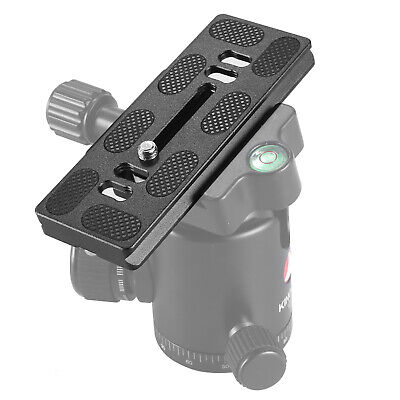 £5.19 • Buy PU100 Quick Release QR Plate Adapter For Benro Arca Swiss Camera Tripod Head