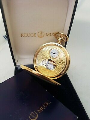 £700 • Buy Reuge Showpiece Pocket Watch With Music Game Works From The 1970er Ref1556