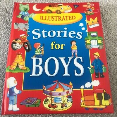 £5.95 • Buy Brown Watson Illustrated Stories For Boys Hard Back Book