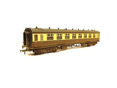 Bachmann Weathered 34-053 60FT Collett 3RD Corridor GWR Livery (OO) Boxed O135 • 28.50£