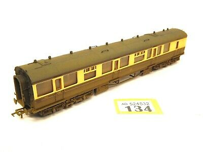 Bachmann Weathered 34-078 60FT Collett 3RD & 1ST Brake GWR Livery(OO) Boxed O134 • 28.50£