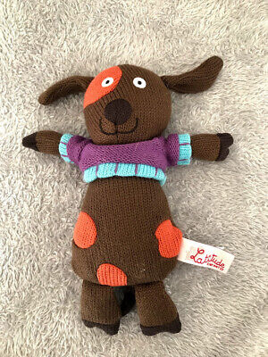 £14.99 • Buy Latitude Enfant Brown Knitted Dog Puppy 9  Soft Toy