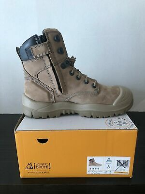 AU99.95 • Buy Mongrel 561060 Work Boots. Safety Steel Toe Cap, Vibram Outsole , Zip Sider.