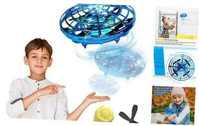 AU36.02 • Buy  Hand Operated Drones For Kids Or Adults, Light Up Joy Flying Ball Drone, Blue