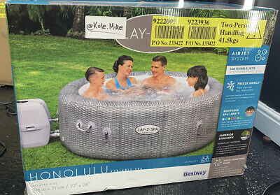 Lay-Z-Spa Honolulu - 6 Person Hot Tub.✅BRAND NEW 2021✅FAST & FREE DELIVERY🚀✅ • 969.99£