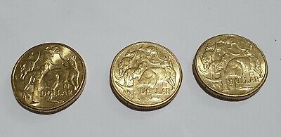AU10 • Buy 2019  $1 A , U , S Privy Mark Dollar Discovery  3 Coin Set. Circulated Condition