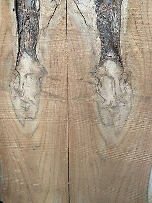 £450 • Buy Teak Bookmatched Boards Live Edge Waney River Table